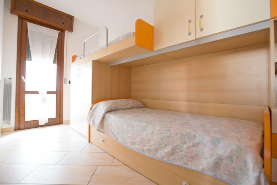 seconda camera con letto a castello