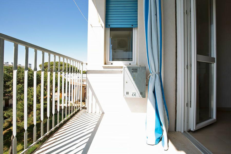 ampio balcone