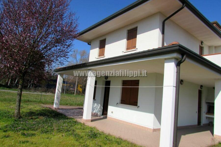 Facciata Villa Via Faenza 43