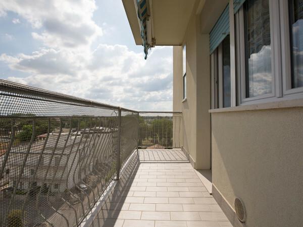 balcone con vista mare