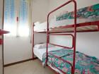 terza camera con letto a castello